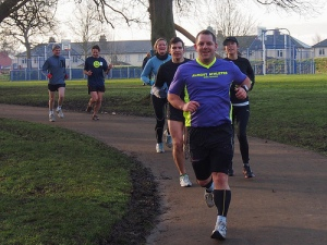 What a good looking chap enjoying Parkrun Cheltenham!