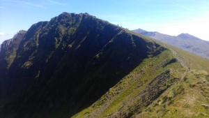 Part of the Nantle Ridge