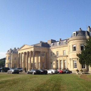 Luton Hoo...the most insanely posh hotel I've ever visited.