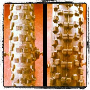 Goodbye summer tread, hello winter rubber.