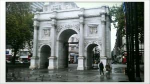 As good a place to start as any - Marble Arch.