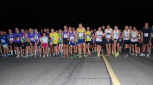 The starting line in 2013...will you be there on Saturday?