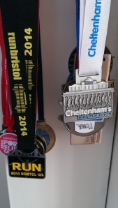 The medal takes it's place in the collection.