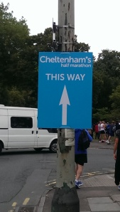 Nice to walk to race start rather than endure a long drive!