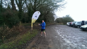 Greg finds the start line
