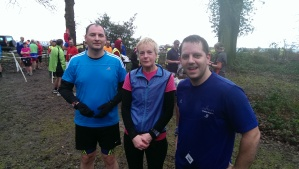 Lovely to meet Catherine from New Forest Runners, who provided the routes for Friday and Sunday.