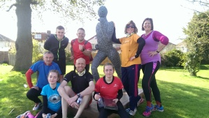 The unexpected Cheltenham parkrunners on tour!